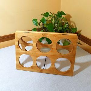 💥5/$15💥NIB Bamboo Wine Rack